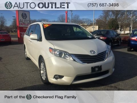 Pre-Owned 2015 Toyota Sienna XLE